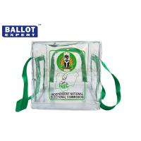 Quality ISO9001 Duable PVC Collapsible Ballot Box Poly Bag Transparent for sale
