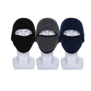 Wholesale Windproof Coldproof Multifunctional Knit Beanie Hats With Ear Flaps from china suppliers