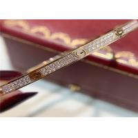 Wholesale Pave Diamonds N6710717 0.95ct 18k Pink Gold Bracelet Cartier cartier jewelry near me from china suppliers