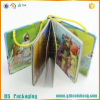Buy cheap China factoy Unique design baby board book with handle from wholesalers