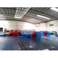 Quality 100% TPU Human 1.5m Body Inflatable Bumper Ball Durable For Kids / Adults for sale
