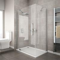 Buy cheap china supplier cheap corner compact simple tempered glass shower enclosure from wholesalers