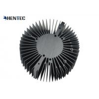 Wholesale 6063 - T5 Cooler / Radiator / Aluminum Heatsink Extrusion Profiles Black Anodized from china suppliers