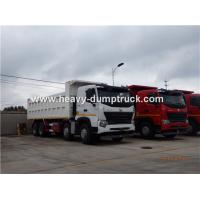 Wholesale HOWO A7 8X4 12 Wheeler Heavy Duty Dump Truck With 30m³ Cubage Capacity For Mining from china suppliers