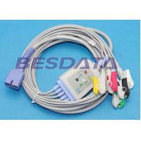 Wholesale Disposable 5 Lead ECG Placement , ECG Lead Clips IEC / AHA Standard TP3010 from china suppliers