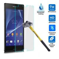 Wholesale Sony Xperia Z3 Tempered Glass Screen Protectors 9H High Hardness from china suppliers