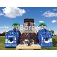 Wholesale Treasure Island Inflatable Obstacle Courses Jungle Pirate Ship Inflatable Bouncer from china suppliers
