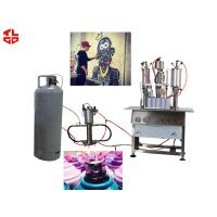 High Capacity Aerosol Spray Paint Can Filling MachineSemi Automatic for sale