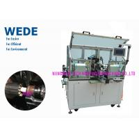 Wholesale 2 Flyers Slot Air Coil Winding Machine , Armature Auto Winding Machine from china suppliers