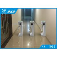 China Stadium Tripod Half Height Turnstile 3000000 Cycles Durable DC Brushed Motor on sale