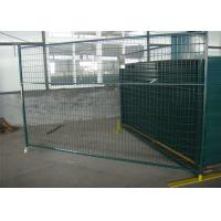 Buy cheap 6'X9.6' temporary construction fence frame 1.6
