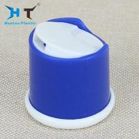Wholesale 28 / 415 Shiny Bule Shampoo Bottle Cap , Disk Top Cap Color Spray Painting from china suppliers