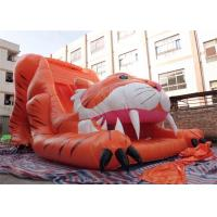 Wholesale Big Commercial Tiger Inflatable Slide / Inflatable Dry Slide For Kids from china suppliers