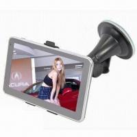 Wholesale GPS Navigator with 5-inch HD Touch Screen, 4GB Memory, 500MHz Frequency, CPU Bluetooth from china suppliers