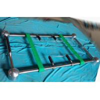 Buy cheap Stainless Casket Mortuary Equipment Coffin Lowering Devices with Placer Arms from wholesalers