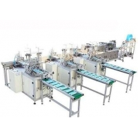 Wholesale 2.6 Ton 3 Ply Face Mask Cutting Folding Packing Machine from china suppliers
