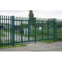 Wholesale Euro Style Free Standing Metal Palisade Fence / Wrought Iron Fence Panel Hot Sale from china suppliers