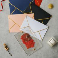 Wholesale acrylic invitation magnetic wedding and envelope card double layers flower from china suppliers