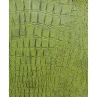 Wholesale Green Color Thickness 0.8 - 0.85mm PVC Synthetic Leather for Home Textile, Decorative from china suppliers