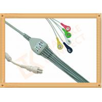 Wholesale Snap Colin BP88S 5 Lead Ecg Cable Insulated Type Ecg Lead Cable from china suppliers