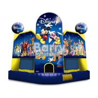 Wholesale Kids Party Cartoon Inflatable Bouncer / Inflatable Moonwalk With Different Art Panels from china suppliers