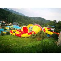 Wholesale Safety Fiberglass Backward Tantrum Valley For Aqua Park / Industrial Water Slide from china suppliers