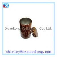 Wholesale Round Storage Metal Tin Boxes For Coffee from china suppliers
