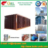 Wholesale Electrical Water CFB Boiler Economizer Power Plant , Steam Boiler Economizer from china suppliers