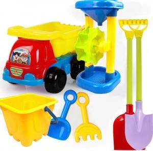 Wholesale 2020 Hot Sale Outdoor Sandbeach Toys Bucket Shovel Toddler Kids Children Beach Sand Toy Set Kids Plastic Beach Toys from china suppliers