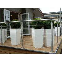Wholesale Dubai Stainless Steel Railings Design, Wire Railing For Decks from china suppliers