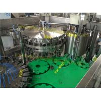 Wholesale SUS304 Glass Bottling Equipment Lubricated Regularly 3 In 1 Rising Filling Seaming from china suppliers