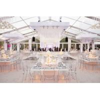 China Transparent PVC Wedding Event Tents , Large Event Tents For Wedding Ceremony for sale