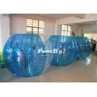 China PVC Huge Red/Blue InflatableBumper Ball Human Bubble Football Ball For Adult Soccer Playing on sale