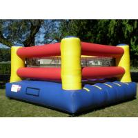 Wholesale Outdoor inflatable Attractive Bouncy Inflatable Boxing Ring, inflatable wrestling ring from china suppliers