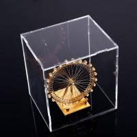 Wholesale Square Counter Acrylic Display , Case Plastic Stand Clear Storage Box Jars With Lids from china suppliers