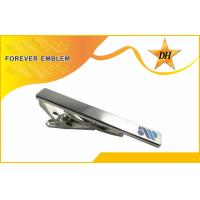 Buy cheap 3D Customized Mens Personalized Tie Clips Printed Logo For Companies from wholesalers