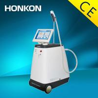 Quality Vertical 1064nm / 532nm Nd Yag Laser Skin Treatment Long Pulse For vascular lesion removal for sale