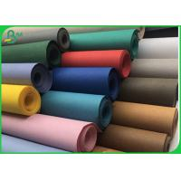 0.3MM TO 0.8MM Washable Kraft Paper Fabric / Biodegradable Paper In Roll for sale