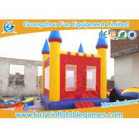 China Small Inflatable Jumping House Baby Bouncy Castle For Outdoor Door / Indoor Games on sale