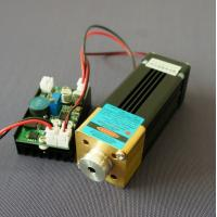Quality 445/450nm 4W Blue Beam Laser Module (NDB7A75)With TTL Modulation For Laser Stage Lights for sale