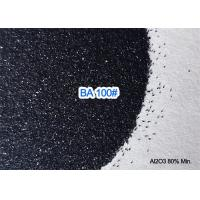 Wholesale 8.0 Mohs Black Aluminium Oxide Blasting Media Abrasive 3.50g / Cm3 Trigonal Crystal Structure from china suppliers