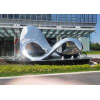 Wholesale Unique Design Polished Outdoor Metal Sculpture For City Square Decoration from china suppliers