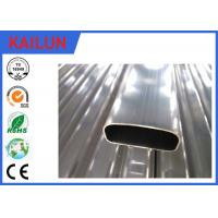 China Thin Wall Hollow Extruded Aluminium Tube For Solar Panel Roof Mounting Brackets on sale