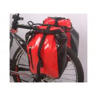 Wholesale Secure 3 Point Connection Mountain Bike Bag Waterproof Material Red Color from china suppliers