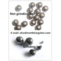 Wholesale tungsten alloy hunting shot for hunting slingshot  nickel iron 92%W not polish blank ball from china suppliers