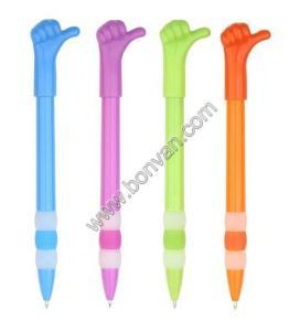 China gift pen,Festival promotional gift pen, finger design plastic logo pen on sale