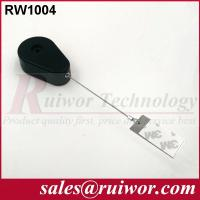 Wholesale 50,000 Times Retail Security Tether With Gluey Dog Tag / Stainless Steel Cable from china suppliers