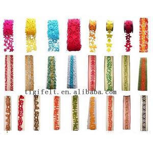 China Felt ribbon, craft on sale