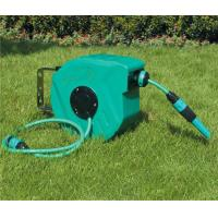 Wholesale Plastic retractable garden hose reels 10m/15m/20m/30m , garden hose retractable reel from china suppliers