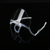 Wholesale Slipping Resistant Transparent Plastic Face Mask For SPA from china suppliers